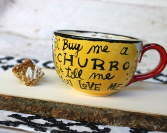 CHURRO Mug - Fired Ceramics