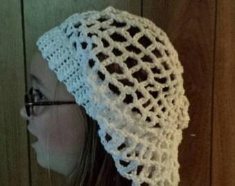 Mesh Renaissance hat for women