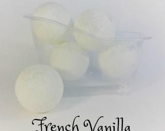 French Vanilla Bath Bombs