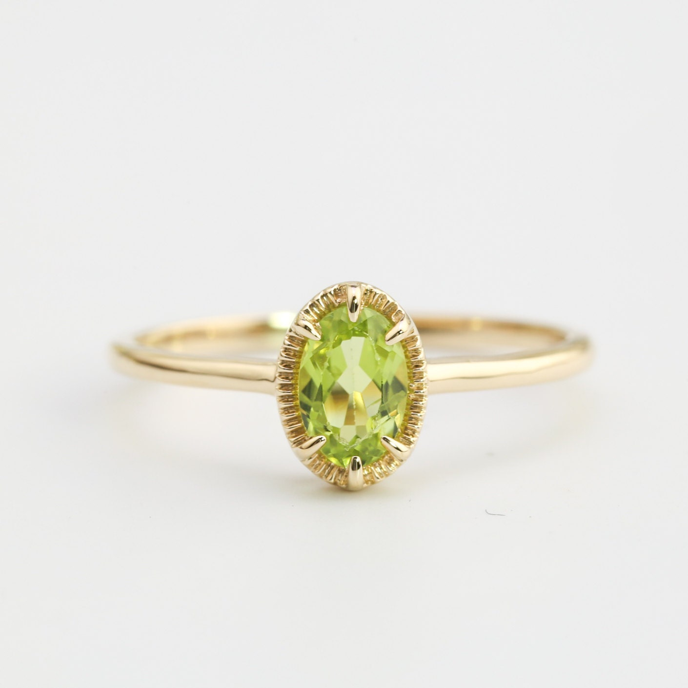 peridot august rings engagement birthstone westdale jewellers
