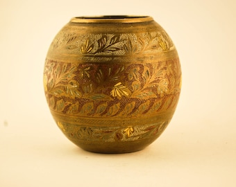 Indian Vase Brass