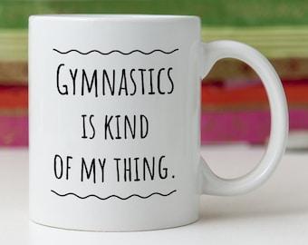 Gymnast Gift/Gymnastics Gift/Gymnast Mug/Gymnastics Mug/Gift for Gymnast/Best Gymnast Ever/Gymnast Present/Gymnastics Present