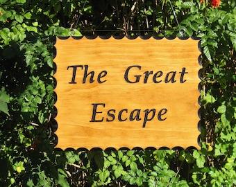 RV Sign - The Great Escape