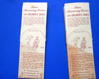 Vintage Sears Measuring Device for Children's Shoes