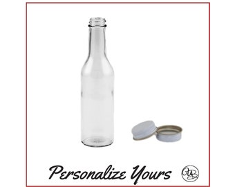 Custom Soda and Punch Bottles - 8 oz - Personalize Yours