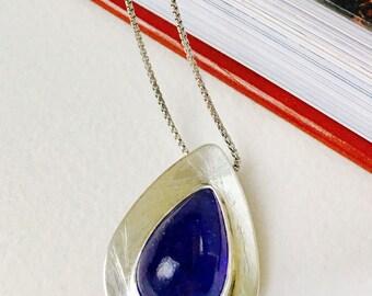 Tanzanite Silversmith Necklace
