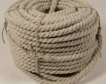 Natural Hemp Rope 6mm