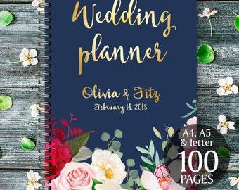 DIY wedding planner, Navy burgundy wedding binder, Printable wedding planner, DIY wedding guide, PDF wedding, Wedding binder, Bridal planner