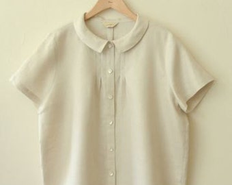 LINNET Pattern / No.94 Blouse with Small Tucks