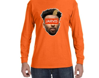 Jarvis Face High quality Long Sleeve Shirt