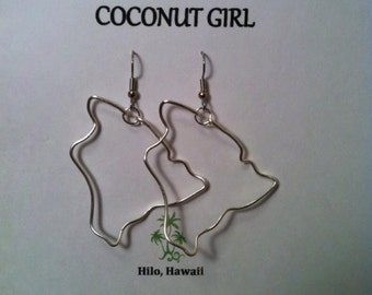 Big Island of Hawaii Earring