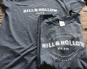 Hill and Hollow Farm T-shirt