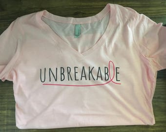 Unbreakable Pink Ribbon