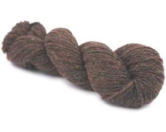 SALE New York 100 % Organic Merino Wool - Brown Melange
