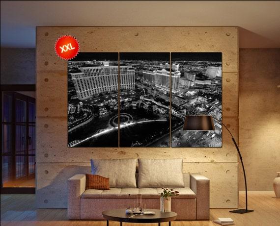 Las Vegas  canvas wall art  Las Vegas  wall decor canvas wall art  Las Vegas large canvas wall art wall decoration