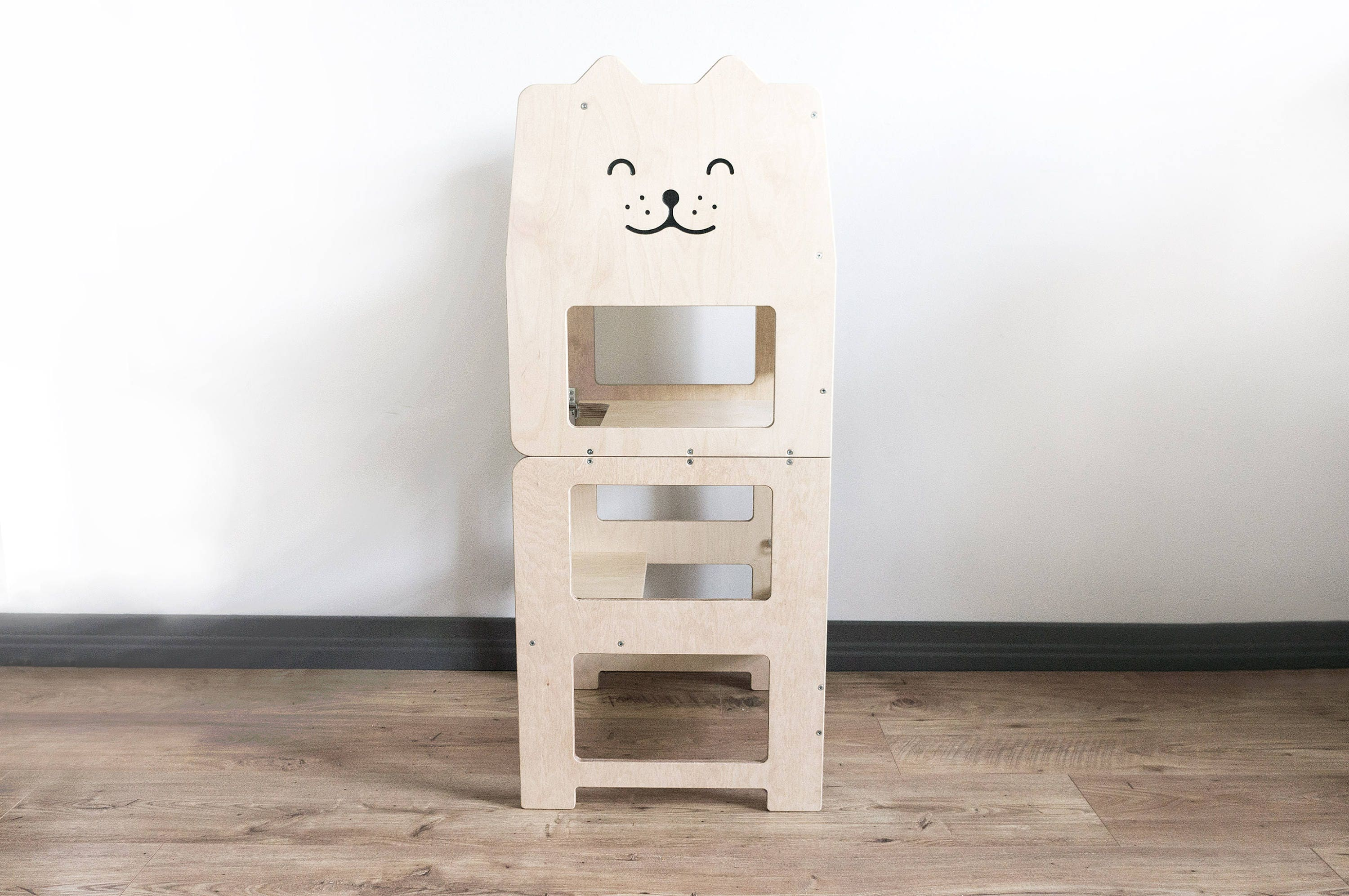 Standing tower for toddler / PLAIN / Little tower/ kitchen