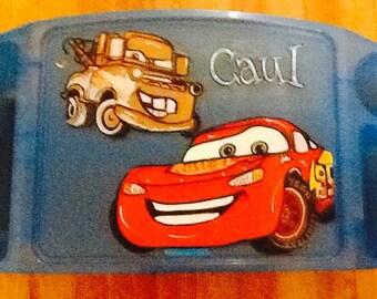 Cars activity tray, cars art tray, cars tv tray, cars game tray, cars lap tray, disney lap tray, disney tray, lighting McQueen tray