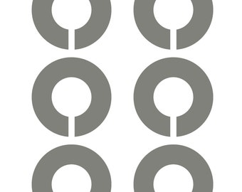 Instant Download Round Closet Divider Template