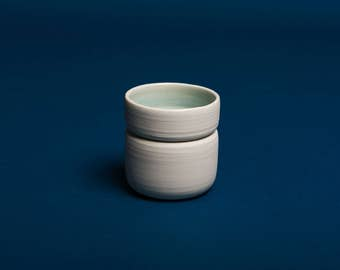 pinch ceramic tea cup