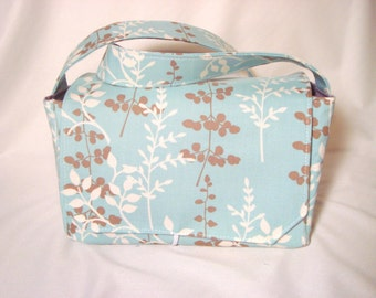 """10% OFF Large 4""""  Size Coupon Organizer Budget Holder Coupon Box Attaches to Your Shopping Cart- Enchanted Forest Leaves"""