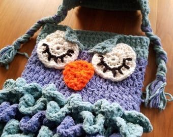 Owl Baby Cocoon with Hat - Small
