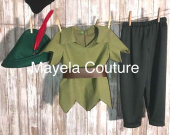 Inspired by Peter Pan- child costume