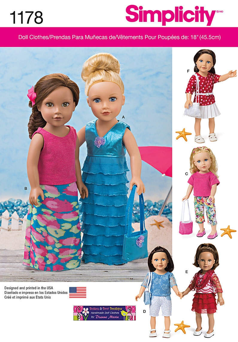 18 Doll Clothes Patterns Awesome Decorating Ideas