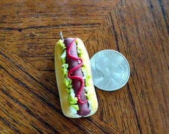 Hotdog charm