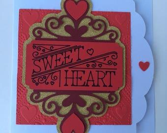 Sweet Heart Love/ Anniversary/ Wedding Card
