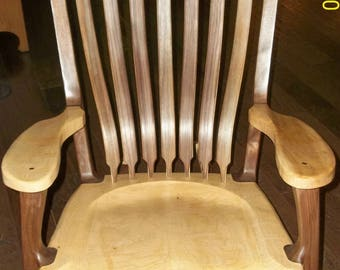 Maloof Inspired Heirloom Rocking chair