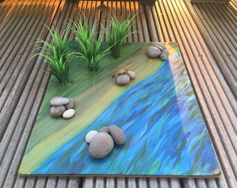 Montessori large habitat board