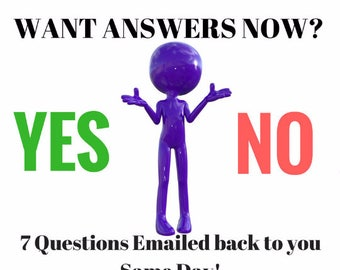 Psychic Readings Same Day Delivery -  Direct Intuitive Reading by Clairvoyant Twin Featherz - Accurate Answers 7 Questions - want to know?