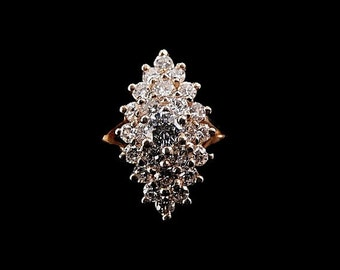 WATERFALL DIAMOND RING