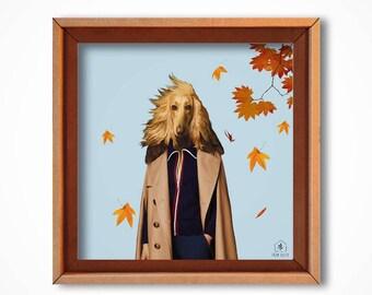 "Art print ""Lost in Regent's Park"" cardboard art print-friendly"