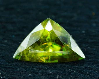 2.0 cts Rare Full Fire Multi Color Natural Sphene Titanite Gemstone from Pakistan - 9*5*2 mm