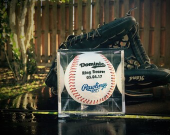 Jr. Groomsman Gift, Baseball, Groomsmen Baseball, Engraved Baseball, Custom Message Baseball, Baseball, Coach Gift, Baseball Gift