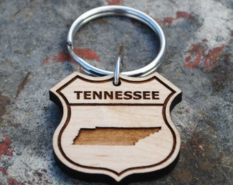 Tennessee State KEYCHAIN