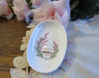 Highland Fine Bone China 1970s trinket dish