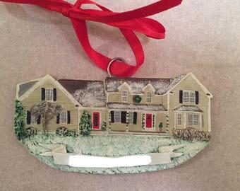 Cust House Ornament