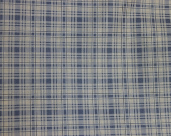 Periwinkle Plaid Penelope  LH11051PERI Lakehouse Dry Goods French Fabric