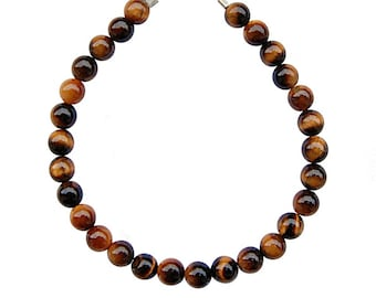 Bracelet Tiger eye beads 6mm