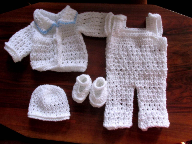 boy overall pattern, boy cardigan pattern, boy hat pattern, boy ...