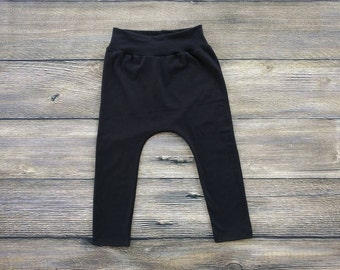 Yoga Waist Harem Pants Baby Harem Pants Toddler Harem Pants Hipster Baby Clothes Baby Jogger Pants Toddler Jogger Pants Baby Leggings