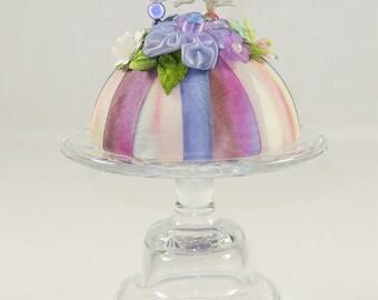 Embellished Floral Pincushion