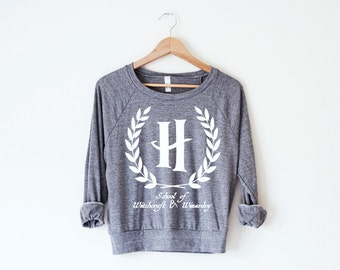 The Hogwarts Collegiate Women's Pullover by So Effing Cute - USA - Harry Potter inspired design