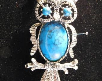 Owl Brooch/Pendant by Gerrry's