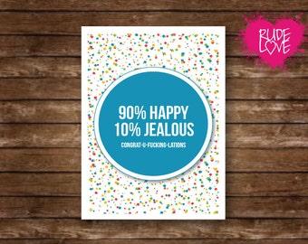 Funny Bridal Shower Card - Funny Marriage Card - Funny Wedding Card - Funny Wedding Shower Card - Funny Wedding Card