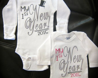 Baby's 1st New Year! gift novelty Happy New Year!