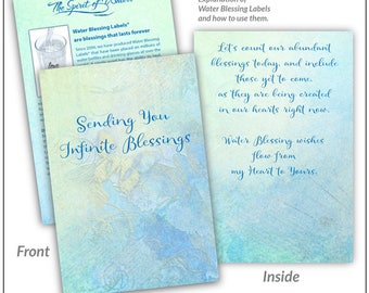 Greeting Card for Water Blessings