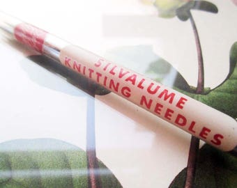 Vintage Knitting Needles, Knitting Supply ~ 7 inch Knitting Needles, Vintage Hobby, Crafting ~ Susan Bates Sewing Supplies, Knitters Gift